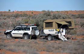 offroad trailer nissan patrol gu und ultimate off road trailer
