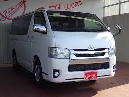 toyota hiace 2015 toyota hiace van japanese used vehicles exporter tomisho