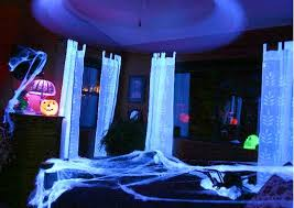 black light bedroom these halloween decorations in blacklight gargage we suggest cool