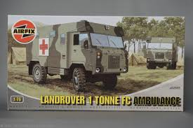 land rover 101 ambulance nr 150 land rover 101 forward control airfix 30 05 2017 der