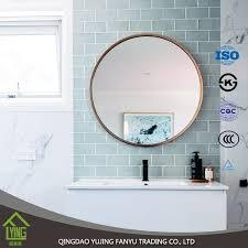 low price good design 5mm decorative bathroom side wall mirrors