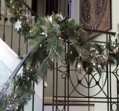 Banister Christmas Garland Christmas Decorating Ideas Christmas Garland Staircase Garland