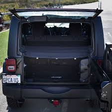 jeep wrangler storage gpca jeep wrangler cargo cover pro covers stuff with top on or