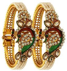 buy youbella traditional jewellery gold plated bangles jewellery