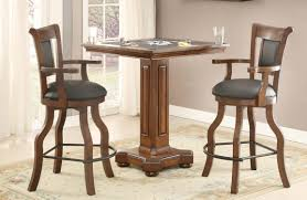 pubga e buy distressed walnut pub game table by eci from www mmfurniture