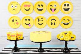 the party ideas 20 emoji birthday party ideas birthday inspire