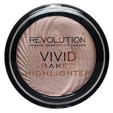makeup revolution radiant lights makeup revolution vivid baked highlighter in radiant lights reviews