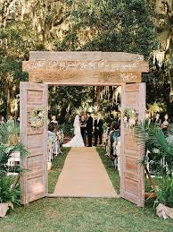 Garden Wedding Ceremony Ideas Outdoor Wedding Ideas That Are Easy To Modwedding