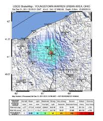 Youngstown Ohio Map by Fracking Practices To Blame For Ohio Earthquakes