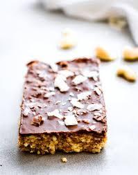 Almond U0026 Coconut Bars Coconut Snack Bars Kind Snacks by No Bake Chocolate Coconut Cashew Bars Vegan Paleo