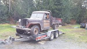 jeep willys truck lifted 1953 u0027ish willys pickup build thread