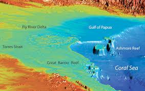 Great Barrier Reef Map Continental Shelf U2013 Blue Habitats