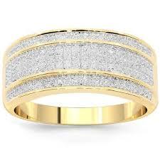 mens gold diamond rings men s rings diamonds diamond jewelry