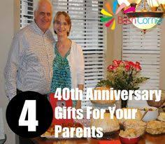 40 year anniversary gift ideas 40th anniversary gift for parents 8x10 print 40th ruby