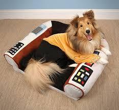 star trek captain u0027s chair dog bed