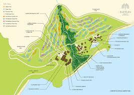 Seychelles Map Luxury Praslin Resort Accommodation Raffles Praslin