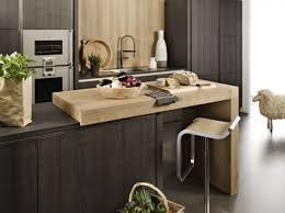plan de travail bar cuisine cuisine ouverte avec plan de travail déco maison