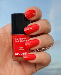 chanel le vernis 687 phenix for chanel plumes précieuses holiday