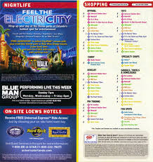 Merchandise Mart Map Universal Studios Florida Guidemaps 2010 2001 Page 2