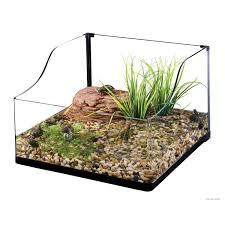 exo terra bent glass turtle terrarium petco