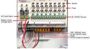 12v dc 8 channel cctv camera battery backup ups uninterruptible