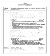 culinary resume templates culinary resume resume templates