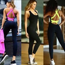 legging jumpsuit wholesale 2016 clothes jumpsuit legging fitness