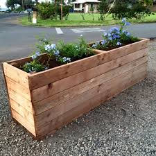 garden boxes ideas planters extraordinary oblong planter boxes window boxes for sale