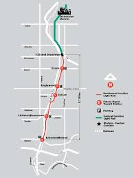 denver light rail expansion map rtd facts and figures southwest corridor light rail line