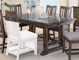 coaster willowbrook rectangular dining table rustic ash gunmetal