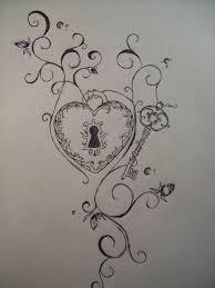 best 25 lock key tattoos ideas on small key tattoos