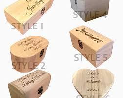 personalized wooden keepsake box wooden keepsake box etsy