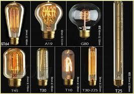 Vintage Lighting Fixture Fashion Incandescent Vintage Light Bulb Edison Bulb Fixture E27