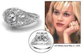 reese witherspoon engagement ring wedding rings pictures reese witherspoon s wedding ring