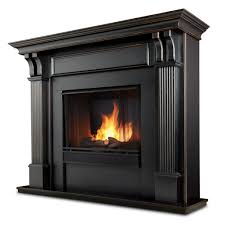 real flame ashley gel fuel fireplace in mahogany u2013 ventless