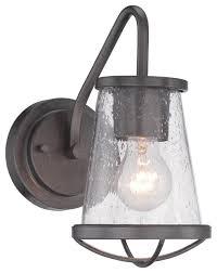 Felix 4 Light Cage Vanity - designers fountain darby bathroom lighting fixture industrial
