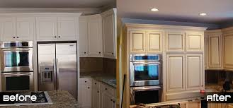 Cabinet Door Refinishing Refinishing Kitchen Cabinets Can Liven Your How To Resurface