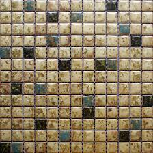 Mosaic Tile Kitchen Backsplash by Porcelain Tile Snowflake Style Mosaic Art Design