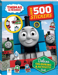 thomas friends deluxe colouring activity book colouring
