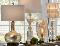 Mercury Glass Table Lamp Tall Mercury Glass Table Lamp U2014 Rs Floral Design Charming