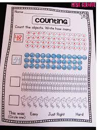 thanksgiving worksheets for 1st grade miss giraffe u0027s class building number sense in first grade
