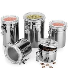 metal canisters kitchen metal storage food bottles sugar tea coffee beans canisters snack
