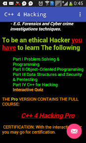 hacker pro apk c 4 hacking pro 1 0 2 apk android education apps