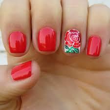 roses nail art gallery nail art designs