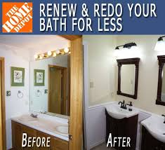 Small Bathroom Makeovers Before And After - renew u0026 redo bath makeover before u0026 after