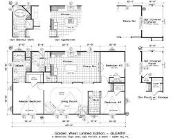 Karsten Homes Floor Plans Golden West Limited Edition Floor Plans 5starhomes Manufactured