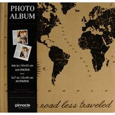 travel photo album 4x6 travel map photo album walmart