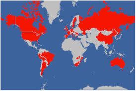 countries visited map easy widget for keeping track of visited countries keet