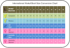 xtratuf boot conversion chart men u0027s to women u0027s boot sizes