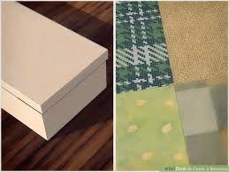 How To Decorate A Shoebox How To Cover A Shoebox 15 Steps With Pictures Wikihow